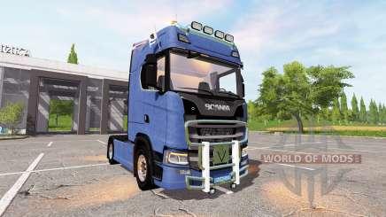 Scania S580 для Farming Simulator 2017