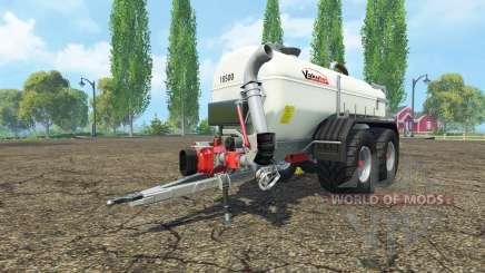 Vakutec 18500l для Farming Simulator 2015