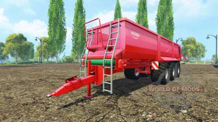 Krampe Bandit 980 для Farming Simulator 2015