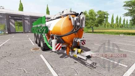 Kaweco 30000l orange для Farming Simulator 2017