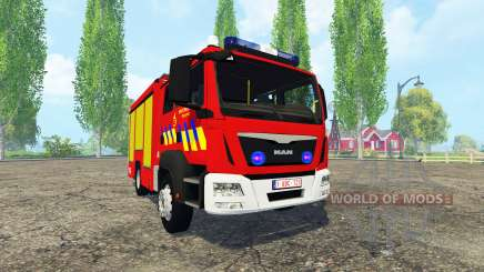 MAN TGM Belgian Fire Department для Farming Simulator 2015