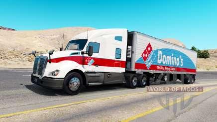 Скины для грузового трафика v1.0.2 для American Truck Simulator