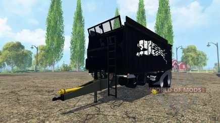 Fliegl ASW 268 black pantera для Farming Simulator 2015