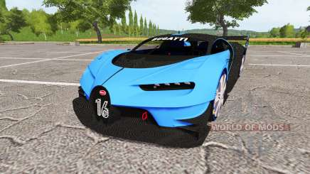 Bugatti Vision Gran Turismo v1.1 для Farming Simulator 2017