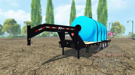 PJ Trailers Gooseneck fertilizer для Farming Simulator 2015