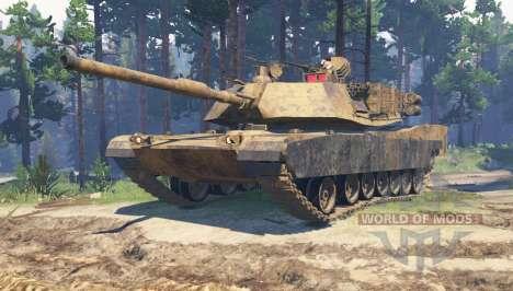 M1 Abrams для Spin Tires