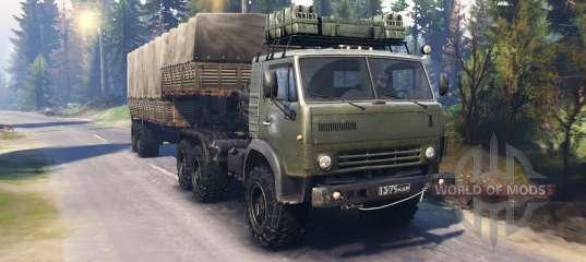КамАЗ 4410 v2 0 для Spin Tires
