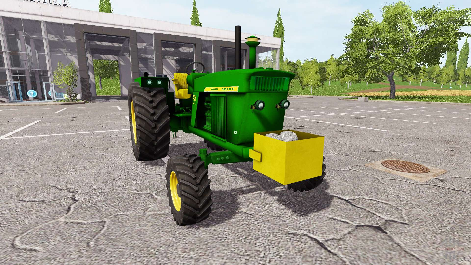 Трактор МТЗ-80 v 1.0 для Фермер Симулятор 2015