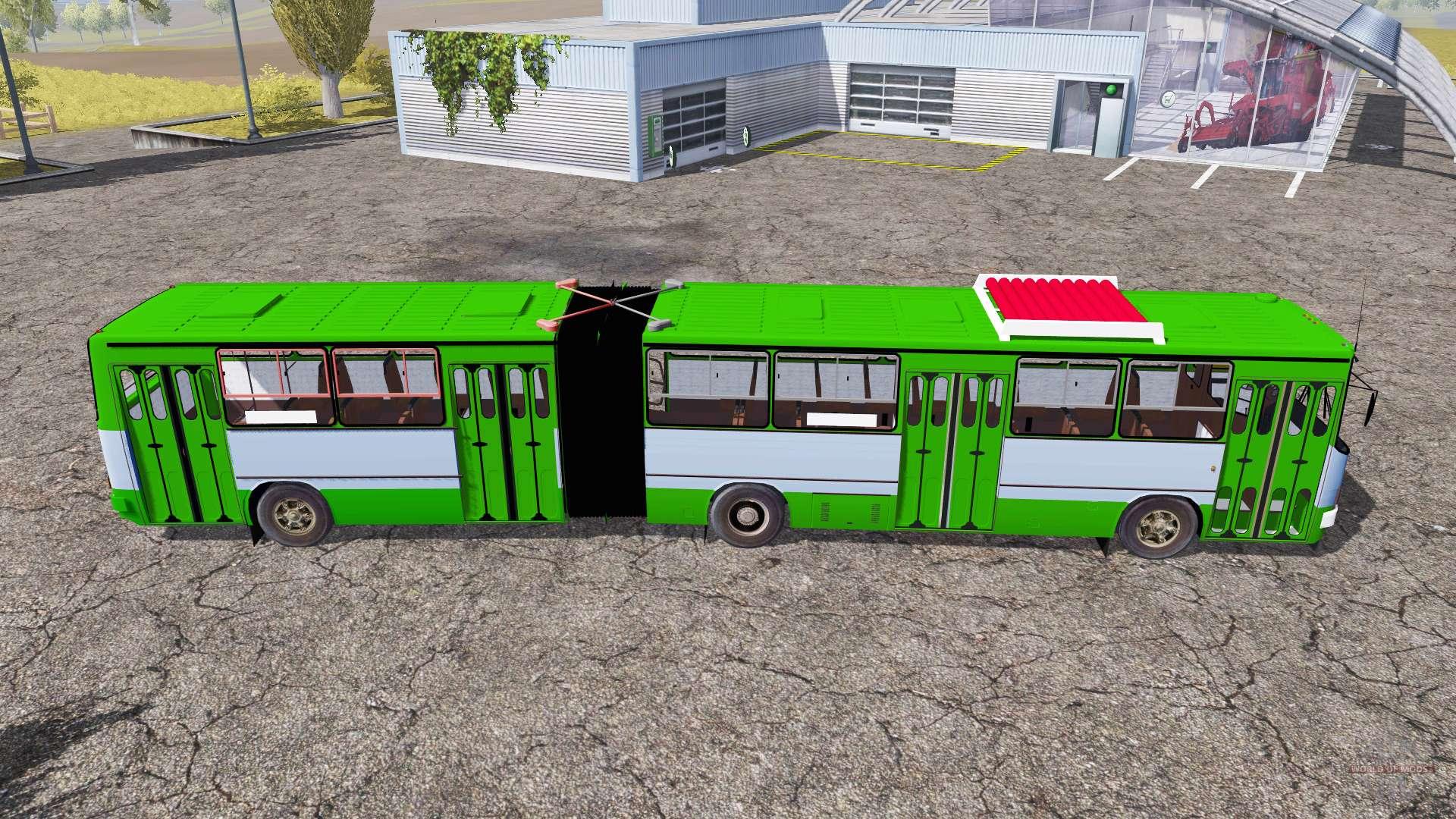 скачать моды для farming simulator 2013 на автобус