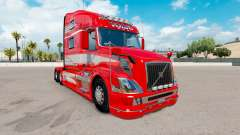 Скин Red Fantasy на тягач Volvo VNL 780