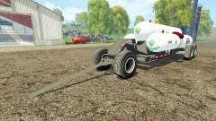 Triple Tank Wagon для Farming Simulator 2015