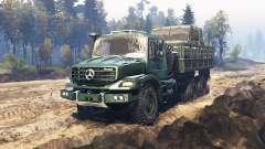 Mercedes-Benz Zetros 2733 A v6.1 для Spin Tires