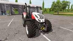 Steyr Terrus 6300 CVT v1.4 для Farming Simulator 2017