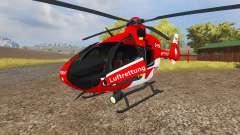 Eurocopter EC135 T2 DRF для Farming Simulator 2013