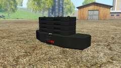 Weight CLAAS для Farming Simulator 2015