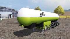 Kaweco tank manure