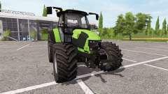 Deutz-Fahr 5110 TTV v6.5.8 для Farming Simulator 2017