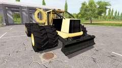 Tigercat 635E reworked для Farming Simulator 2017