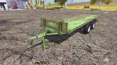 Tractor trailer platform