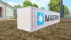 Container 40ft Maersk