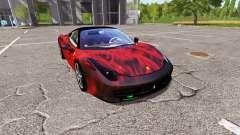 Ferrari 458 Italia fireskin