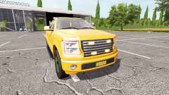 Lizard Pickup TT traffic advisor v1.2 для Farming Simulator 2017