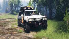 Toyota Land Cruiser 105 v4.0 для Spin Tires