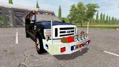 Ford F-350 brush truck