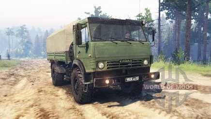 КамАЗ 4350 для Spin Tires