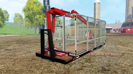 ITRunner forest edition v0.6 для Farming Simulator 2015