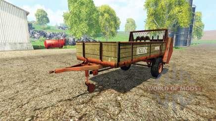 Heywang Mistral для Farming Simulator 2015