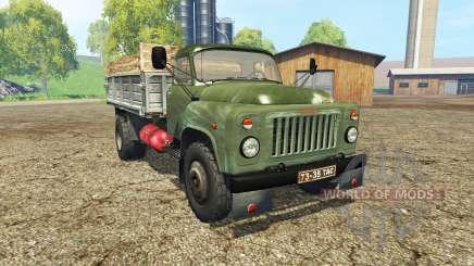 ГАЗ 53 зелёный для Farming Simulator 2015
