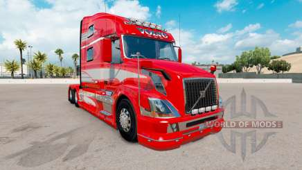 Скин Red Fantasy на тягач Volvo VNL 780 для American Truck Simulator