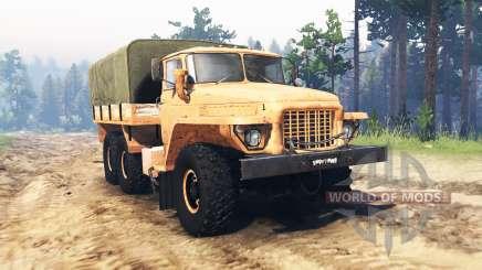 Урал 375 Лесной бродяга для Spin Tires