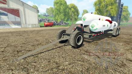 Triple Tank Wagon для Farming Simulator 2015