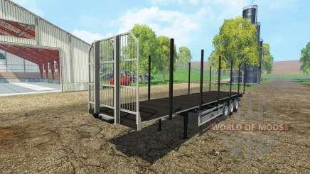 Fliegl universal semitrailer autoload v1.3 для Farming Simulator 2015