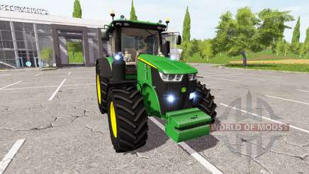 John Deere 7290R v1.2 для Farming Simulator 2017