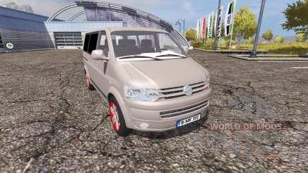 Volkswagen Caravelle (T5) TDI v2.0 для Farming Simulator 2013