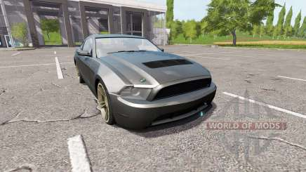 Ford Mustang GT Road Rage для Farming Simulator 2017