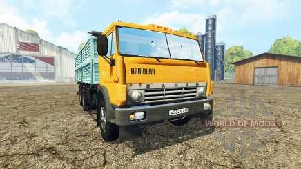 КамАЗ 55102 v2.0 для Farming Simulator 2015