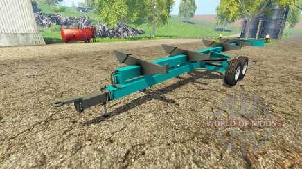 Cochet header trailer для Farming Simulator 2015