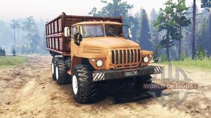 Урал 5557 для Spin Tires