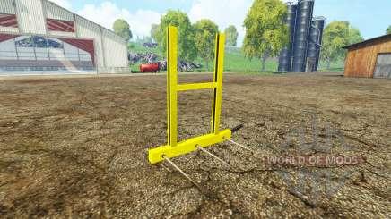 Bale fork для Farming Simulator 2015