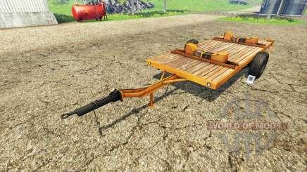 Cutter Trailer для Farming Simulator 2015