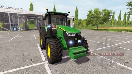 John Deere 7290R v2.0 для Farming Simulator 2017