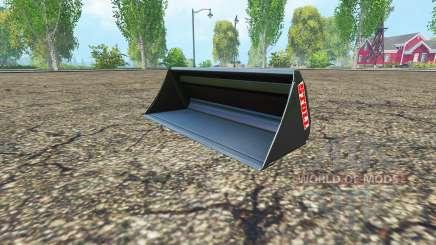 Stoll universal bucket для Farming Simulator 2015