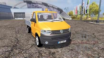 Volkswagen Transporter Dropside (T5) для Farming Simulator 2013