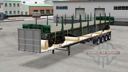 Oversize trailers USA для American Truck Simulator