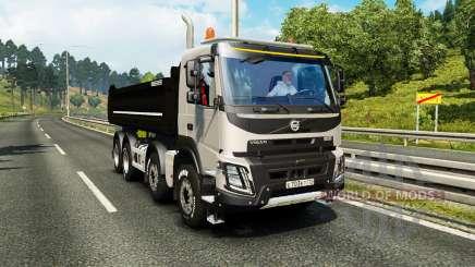 Volvo FMX Meiller Kipper для Euro Truck Simulator 2