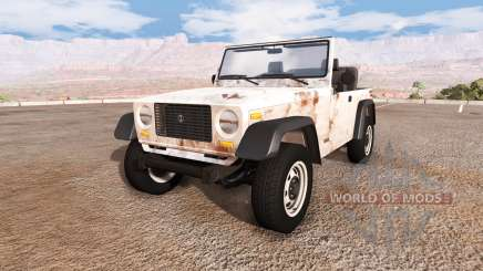 Ibishu Hopper rusty v1.1 для BeamNG Drive